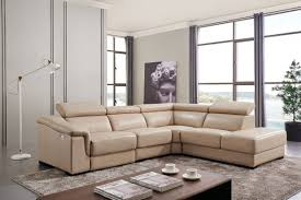 Leather Livingroom Furniture 760 Sectional W Electric Recliner Leather Sectionals Living Room