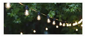 Edison Bulb Patio String Lights Patio String Lights Yard Envy