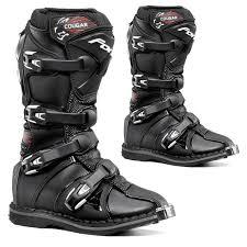 motocross boots forma cougar kids youth mx motocross boots black dirtbikebitz