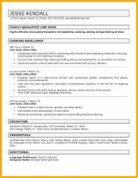 cook cv template 28 images this free sle was provided by