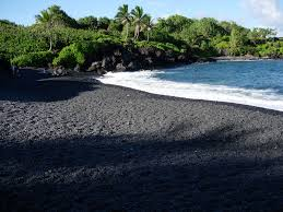 Black Sand Beaches Maui by Hawaii Black Sand Beach Wallpaper