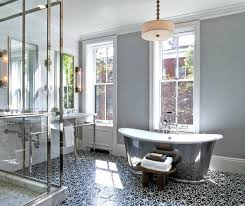 bathroom floor ideas patterned floor tiles geometric patterned tiles trending on home