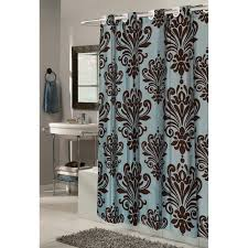 Shower Curtain Blue Brown Lush Decor Night Sky Shower Curtain Hayneedle
