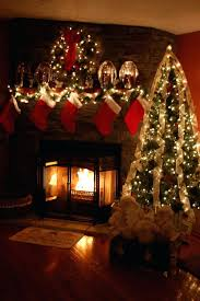 fireplace pure christmas lights in fireplace for living ideas