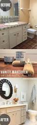 Painting Bathroom Vanity Ideas Remodelaholic Chalk Paint Bathroom Vanity Makeover