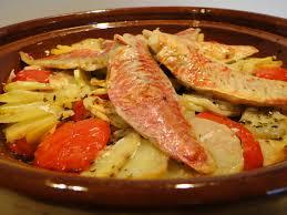 cuisiner des rougets pommes de terre rôties aux rougets les recettes de mimi