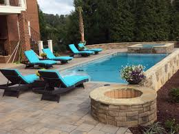 outdoor fireplaces and fire pits backyard raleigh cary