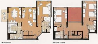 disney saratoga springs treehouse villas floor plan saratoga springs three bedroom grand villa want pinterest