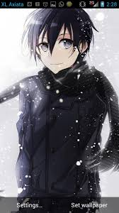 wallpaper android sao lwp sword art online kirito b free anime live wallpaper android