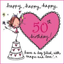 50 beautiful happy birthday greetings happy 50th birthday rating is available when the