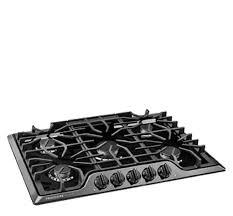 30 Gas Cooktop With Downdraft Frigidaire Gallery 30 U0027 U0027 Gas Cooktop Black Fggc3047qb