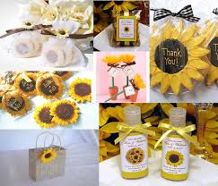 sunflower wedding favors sunflower wedding theme archives happyinvitation invitation
