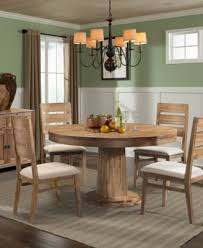 Champagne  Piece Round Dining Room Furniture Set Furniture Macys - Macys dining room furniture