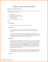 lab report conclusion template lab report conclusion template new sle chemistry lab report