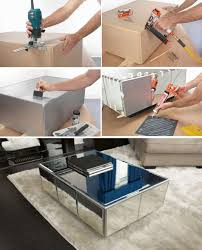 Build A Wood Coffee Table by Best 25 Mirrored Coffee Tables Ideas On Pinterest Home Living