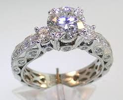 old style rings images Old style antique diamond wedding rings wedding ideas jpg