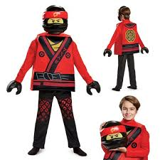 Boys Lego Halloween Costume Boys Ninjago Deluxe Kai Costume U2013 Lego Halloween Costumes