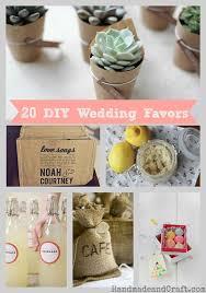wedding favor ideas diy 20 diy wedding favors handmadeandcraft jpg