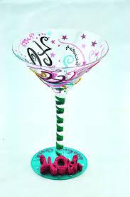 birthday margarita glass happy birthday martini glass birthday decoration