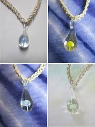necklace hemp images Hemp necklace glass mushroom pendant shroom new you choose jpg