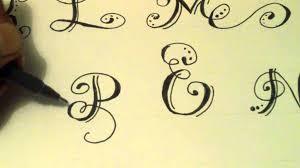 como hacer letras bonitas fáciles parte 1 how to make