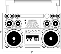 boombox sketch u2013 images free download