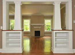 interior columns for homes renovation detail the tapered craftsman column