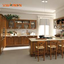rustic wood kitchen cabinets china america canada project top quality standard rustic