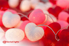 Red Heart Fairy Lights by Special Decoration Ideas Fairy Lights