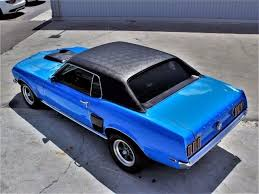 1969 mustang grande for sale 1969 ford mustang grande hardtop blue 351 v8 manual