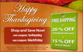 all orders up to 20 free shipping thanksgiving black