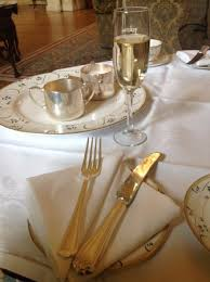 beautiful place setting to accompany afternoon tea picture of