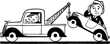 cartoon car black and white retro car trouble clip art the graphics fairy