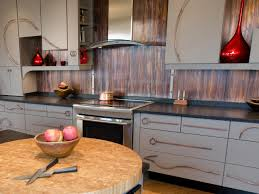 Metal Backsplash Ideas Pictures  Tips From HGTV HGTV - Metal backsplash