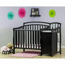 3 In 1 Mini Crib Casco 3 In 1 Mini Crib And Dressing Table Combo Black