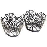 amazon com halloween cupcake liners combo pack 150 count