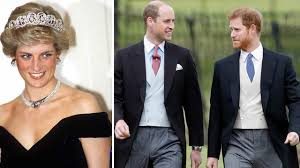 princes william and harry rededicate diana u0027s grave on her 56th