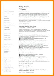 volunteer resume template volunteer resume template volunteering resume sle resume for