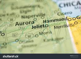 Map Of Joliet Il Joliet Illinois Usa Stock Photo 391424539 Shutterstock