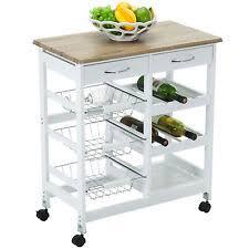 rubberwood kitchen islands u0026 kitchen carts ebay