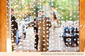photo backdrop ideas wedding ceremony backdrop ideas