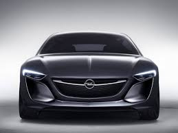 new monza concept is opel u0027s idea of a coupe with wings for doors