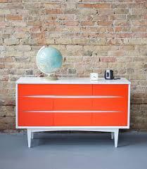 bedroom rectangle orange minimalist acrylic closet dresser with