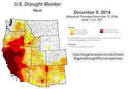 Us Drought Map Simultaneous Flooding And Drought In California Human Caused