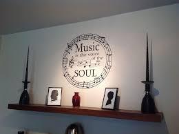music wall decor astonishing decoration music note wall art very attractive design