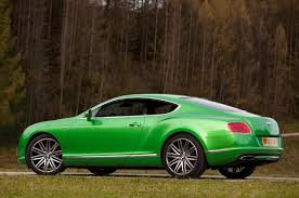 green bentley 2013 bentley continental gt speed autoblog