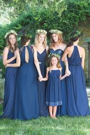 bridesmaid dresses in blue navy blue bridesmaid dresses new wedding ideas trends