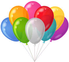 bunch of balloons bunch transparent colorful balloons clipart gallery