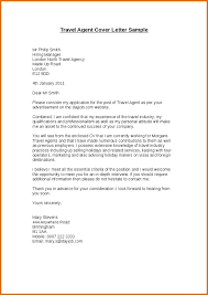 Resume Email Cover Letter Samples by Travel Agent Resume Cover Letterreference Letters Words