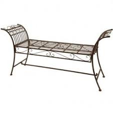 metal garden benches foter